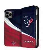 Houston Texans iPhone 11 Pro Max Folio Case
