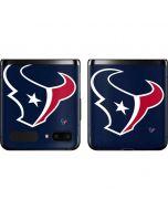 Houston Texans Large Logo Galaxy Z Flip Skin