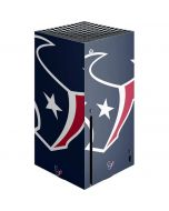 Houston Texans Large Logo Xbox Series X Console Skin