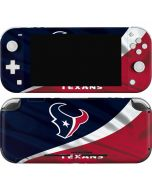 Houston Texans Nintendo Switch Lite Skin