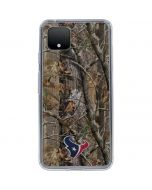 Houston Texans Realtree AP Camo Google Pixel 4 Clear Case