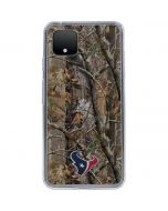 Houston Texans Realtree AP Camo Google Pixel 4 XL Clear Case
