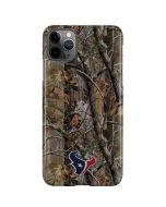 Houston Texans Realtree AP Camo iPhone 11 Pro Max Lite Case