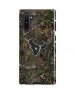Houston Texans Realtree Xtra Green Camo Galaxy Note 10 Pro Case