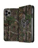 Houston Texans Realtree Xtra Green Camo iPhone 11 Pro Max Folio Case