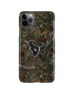 Houston Texans Realtree Xtra Green Camo iPhone 11 Pro Max Lite Case