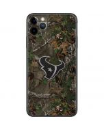 Houston Texans Realtree Xtra Green Camo iPhone 11 Pro Max Skin