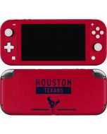 Houston Texans Red Performance Series Nintendo Switch Lite Skin
