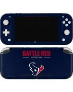 Houston Texans Team Motto Nintendo Switch Lite Skin