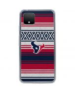 Houston Texans Trailblazer Google Pixel 4 Clear Case