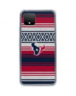 Houston Texans Trailblazer Google Pixel 4 XL Clear Case