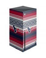 Houston Texans Trailblazer Xbox Series X Console Skin