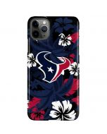 Houston Texans Tropical Print iPhone 11 Pro Max Lite Case