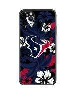 Houston Texans Tropical Print iPhone 11 Pro Max Skin