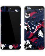 Houston Texans Tropical Print Apple iPod Skin