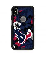 Houston Texans Tropical Print Otterbox Commuter iPhone Skin