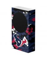 Houston Texans Tropical Print Xbox Series S Console Skin