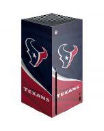 Houston Texans Xbox Series X Console Skin
