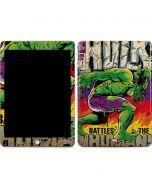 Hulk Battles The Inhumans Apple iPad Skin