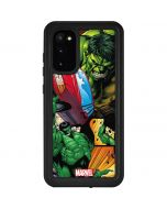 Hulk in Action Galaxy S20 Waterproof Case