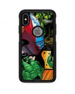 Hulk in Action Otterbox Commuter iPhone Skin