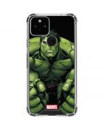 Hulk is Angry Google Pixel 5 Clear Case