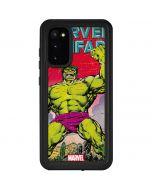 Hulk Marvel Fanfare Galaxy S20 Waterproof Case