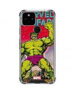 Hulk Marvel Fanfare Google Pixel 5 Clear Case