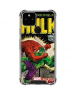 Hulk vs Raging Titan Google Pixel 5 Clear Case