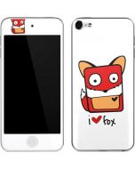 I HEART fox Apple iPod Skin