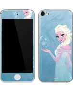 Ice Blue Elsa Apple iPod Skin