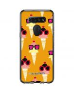 Ice Cream with Shades LG K51/Q51 Clear Case