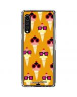 Ice Cream with Shades LG Velvet Clear Case