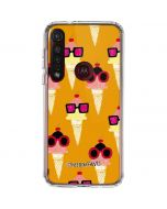 Ice Cream with Shades Moto G8 Plus Clear Case