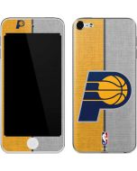 Indiana Pacers Canvas Apple iPod Skin