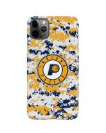 Indiana Pacers Digi Camo iPhone 11 Pro Max Lite Case