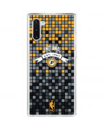 Indiana Pacers Digi Galaxy Note 10 Clear Case