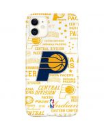 Indiana Pacers Historic Blast iPhone 11 Lite Case