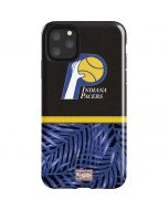 Indiana Pacers Retro Palms iPhone 11 Pro Max Impact Case