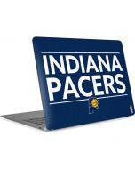 Indiana Pacers Standard - Blue Apple MacBook Air Skin
