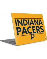 Indiana Pacers Standard - Yellow Apple MacBook Air Skin