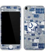 Indianapolis Colts - Blast Apple iPod Skin