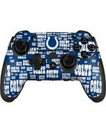 Indianapolis Colts Blue Blast PlayStation Scuf Vantage 2 Controller Skin