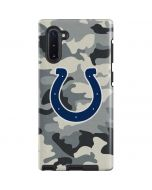 Indianapolis Colts Camo Galaxy Note 10 Pro Case