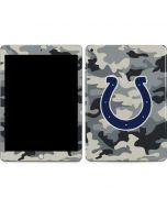 Indianapolis Colts Camo Apple iPad Skin