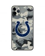 Indianapolis Colts Camo iPhone 11 Pro Max Skin