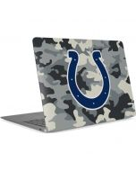 Indianapolis Colts Camo Apple MacBook Air Skin