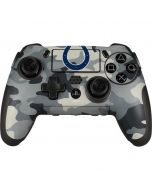Indianapolis Colts Camo PlayStation Scuf Vantage 2 Controller Skin