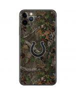 Indianapolis Colts Realtree Xtra Green Camo iPhone 11 Pro Max Skin