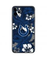 Indianapolis Colts Tropical Print iPhone 11 Pro Max Skin